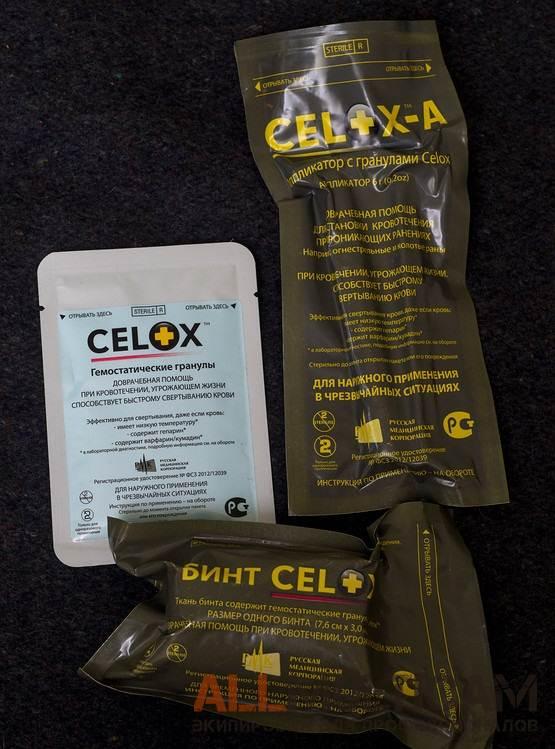 Обзор гемостатических средств Celox