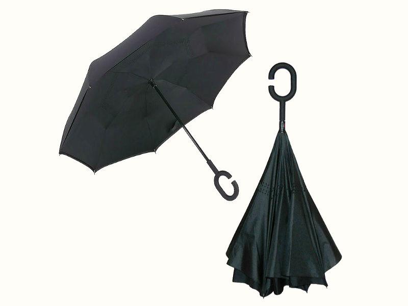 Обратный зонтик в стиле футуризма