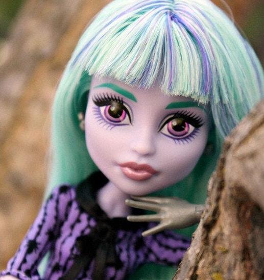 кукла Твайла, Monster High