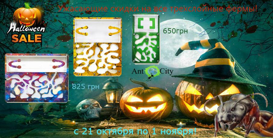 Хеллоуин Трехслойные фермы