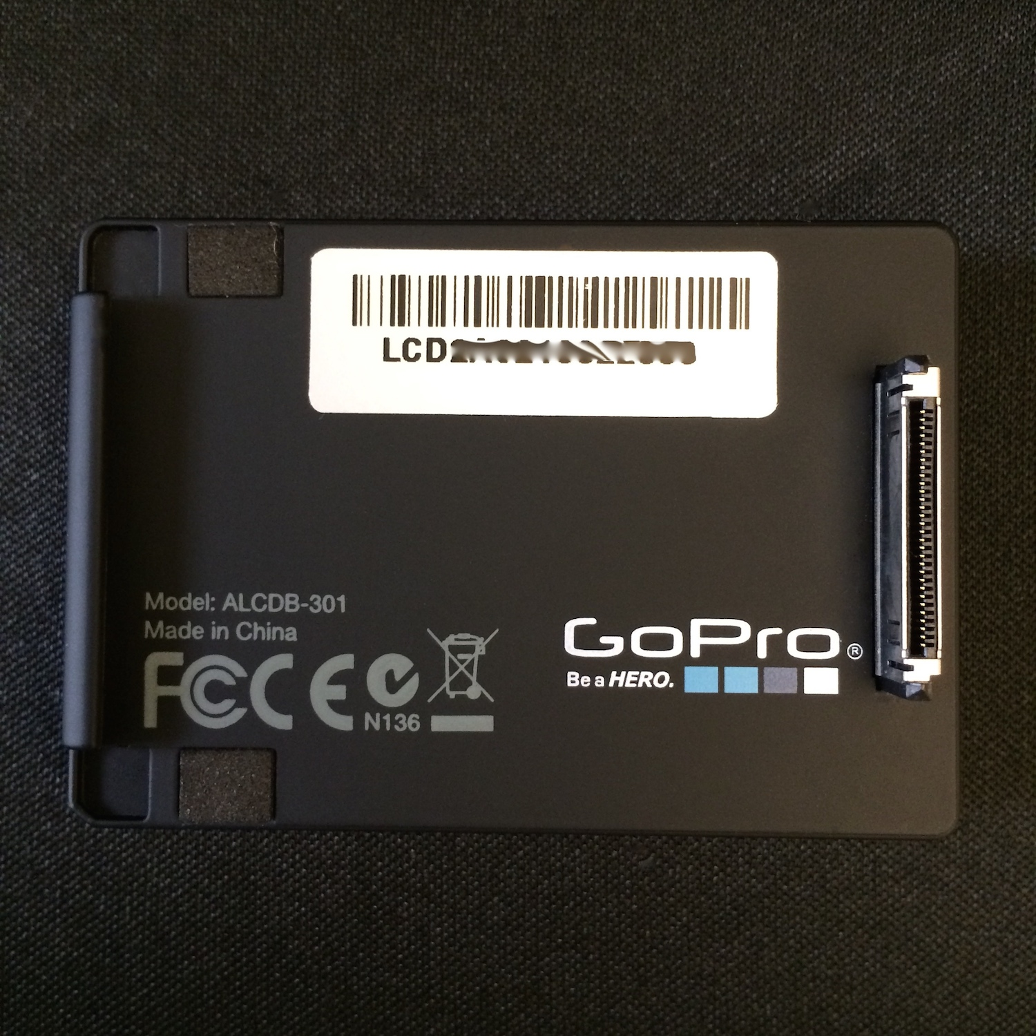 how to get serial number gopro