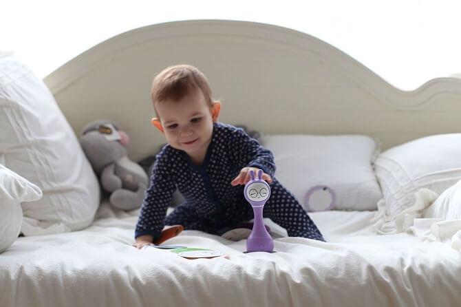 Зайчик Alilo R1 фиолетовый для малышей