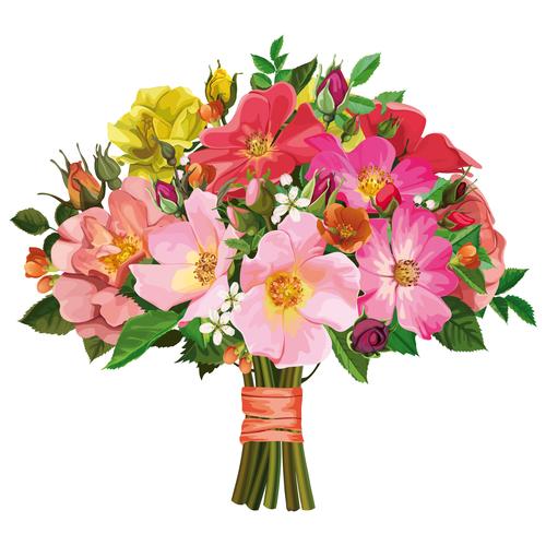 Широкий ассортимент цветов