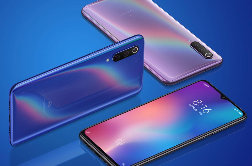 Смартфон Xiaomi Mi 9 общая экспозиция