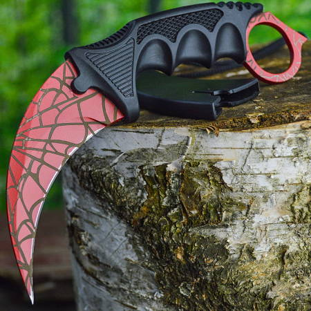 цена CS GO Karambit Bloody Web