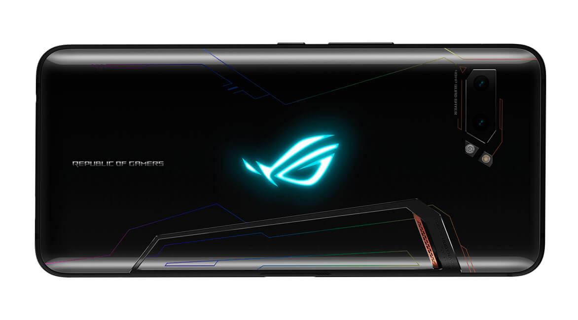 Тыльная сторона: Gorilla Glass 6 и логотип с подсветкой