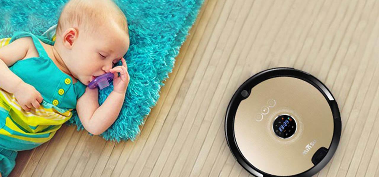 Робот-пылесос SITITEK в вашем доме