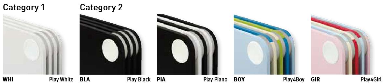 Цветовая гамма JAGA PLAY