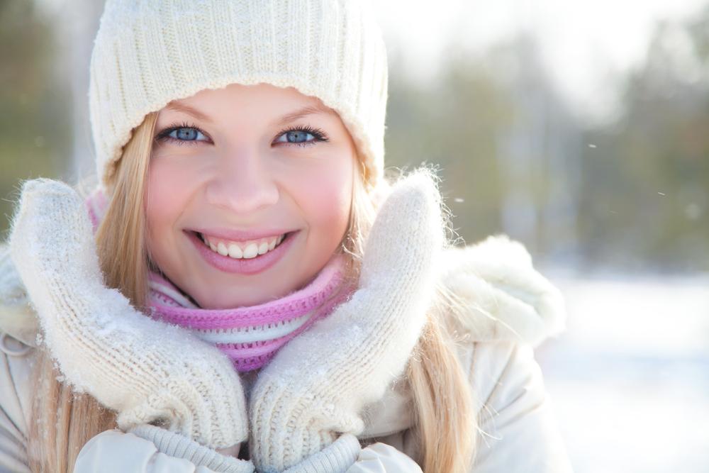 Уход за кожей лица в зимний период.