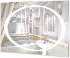 Зеркало в ванную Ниагара с подсветкой