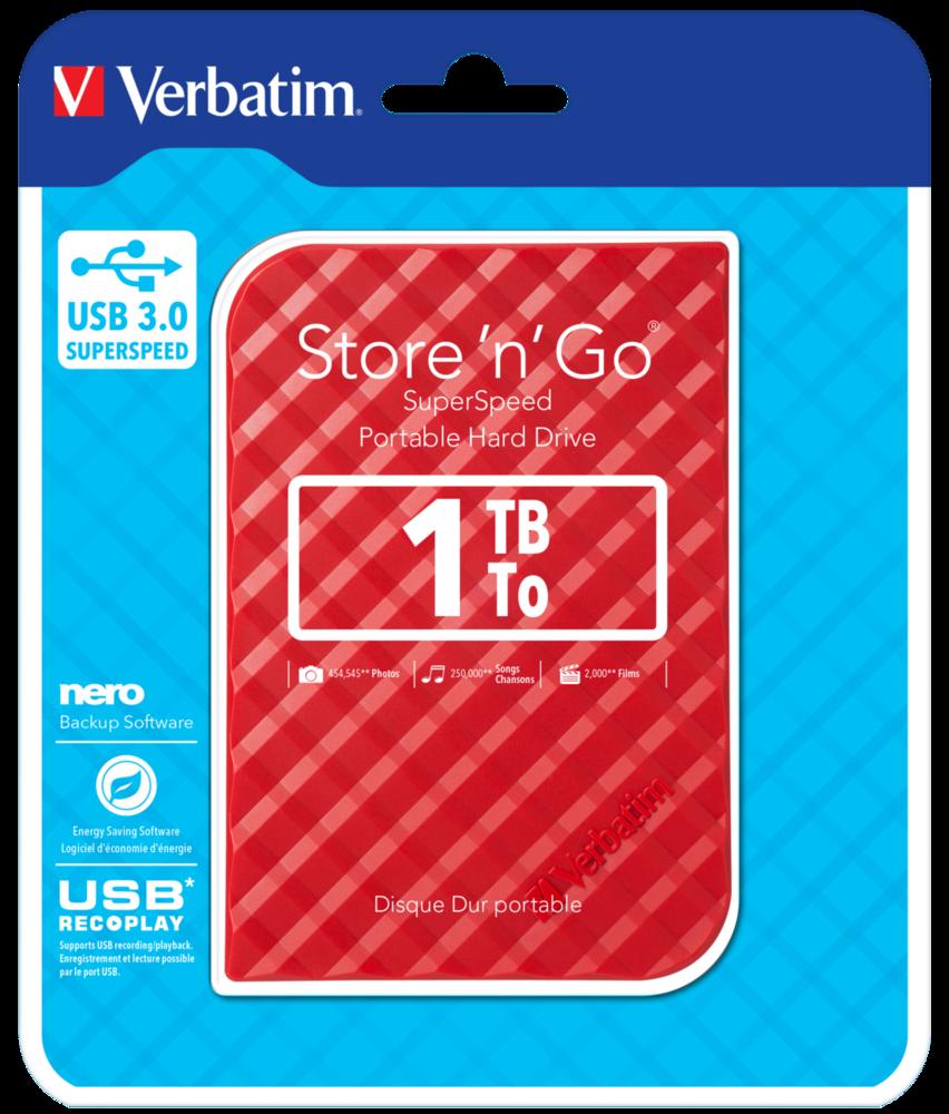 Жесткий диск Store 'n' Go USB 3.0