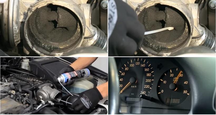 Чистка впускного тракта дизельного двигателя