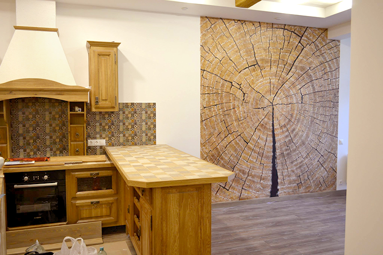 деревянная фактура краскопультом в аэрографии