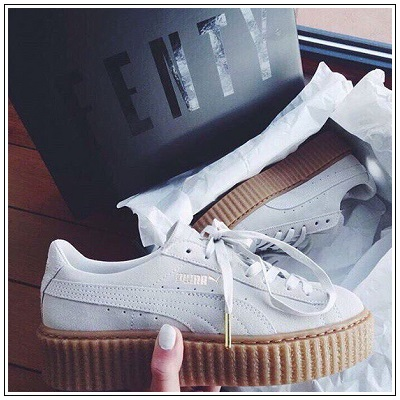 Puma Women Fenty by Rihanna Creeper White