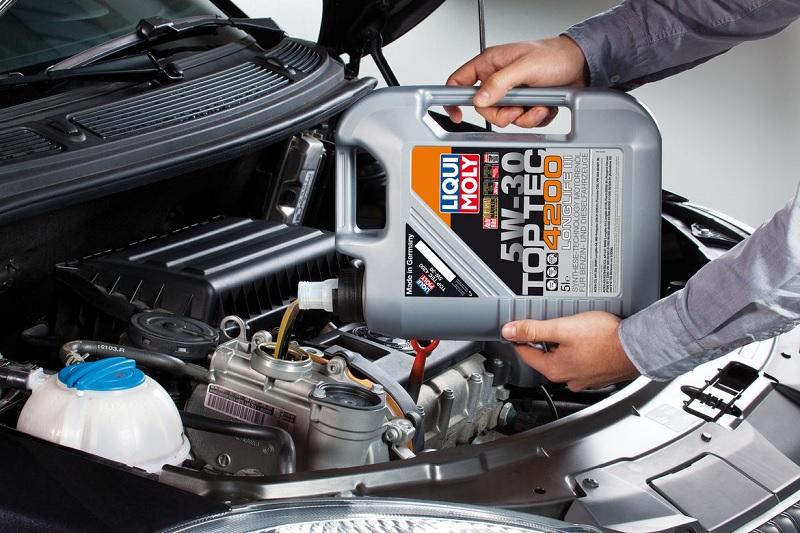 Liqui Moly Top Tec 4200 синтетика для VW
