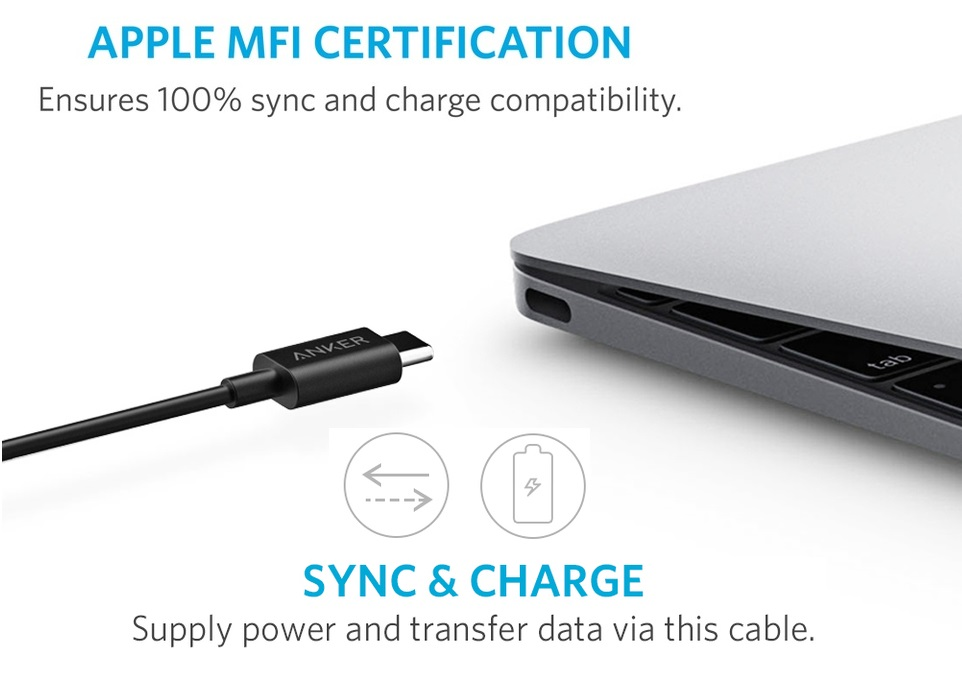 Anker PowerLine+ USB-C to USB-A 3.0