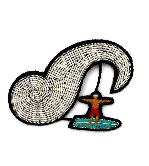 купите стильное украшение Surfer pin от Macon&Lesquoy