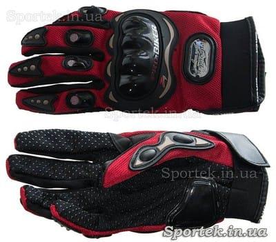 Велосипедные перчатки с усиленной защитой