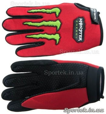 Обычные велосипедные перчатки