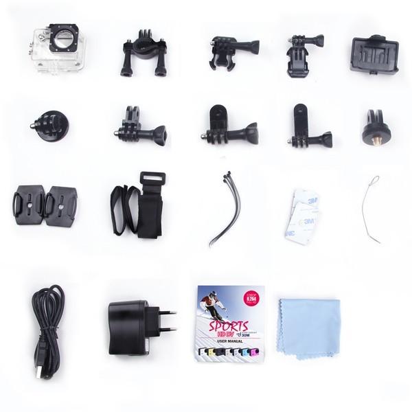 Экшн-Камера Sjcam SJ4000 желтая купить по выгодной цене оптом и в розницу с доставкой в Москве