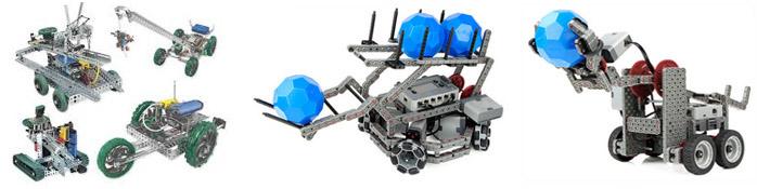 Учебные роботехнические наборы VEX