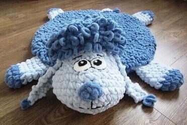 Коврик-игрушка из Пуффи