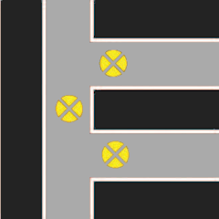 Аварийное освещение отелей на пересечении проходов и коридоров