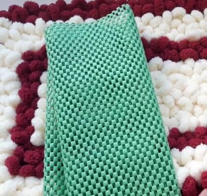 Основа для коврика из Пуффи
