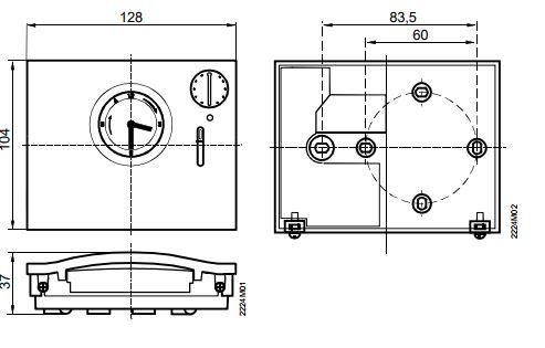 Размеры Siemens RAV11.1