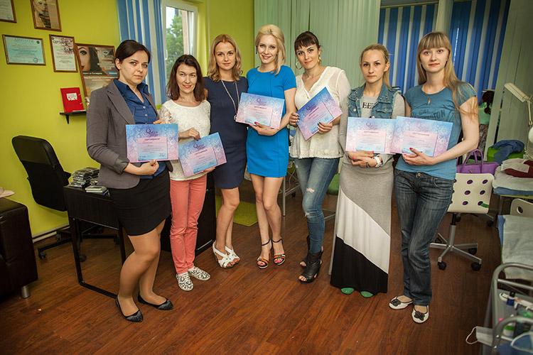 Выпускники учебного центра Prime Lashes