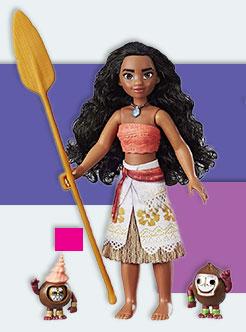 Кукла Моана и Какамора из Disney Princess