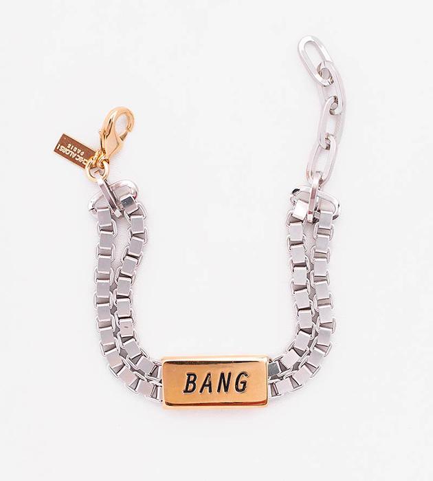 купите стильный браслет из латуни с надписью BANG от Chic Alors-Paris