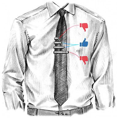 Какая ширина должна быть у зажима для галстука