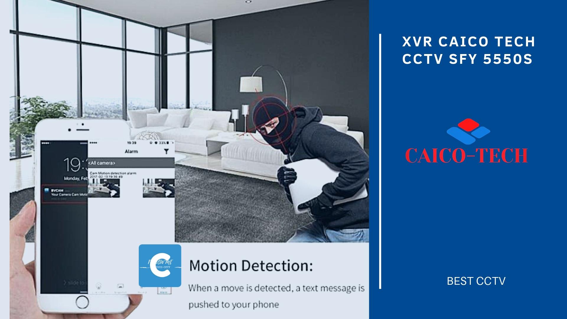 XVR CAICO TECH CCTV