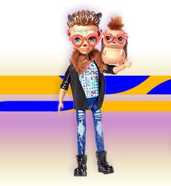 Кукла Хиксби с ежиком из Enchantimal