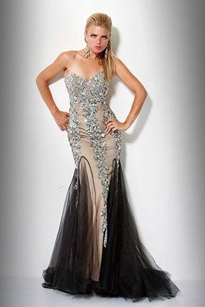 Оригинальное платье Jovani 17438