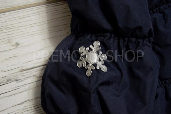 Светоотражатель-снежинка на пальто Premont Квилт