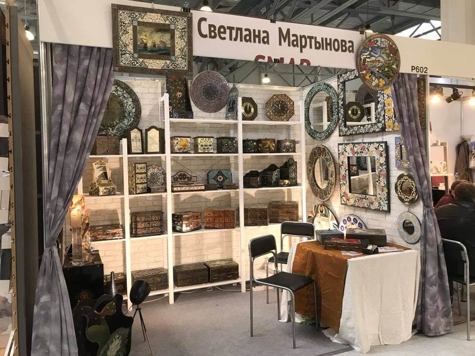 наш фоторепораж с выставки Stylish Home. Gifts – осень 2018