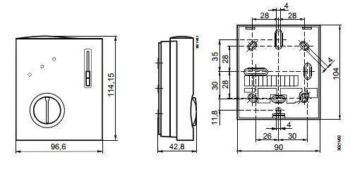 Размеры Siemens RCC10