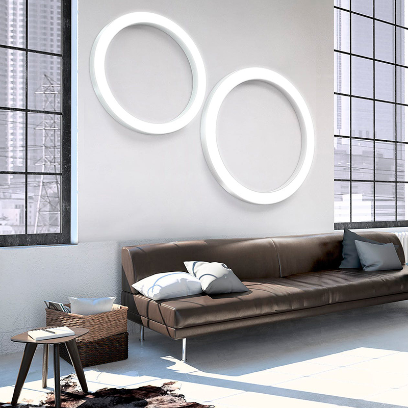 Светильник Silver Ring от Panzeri