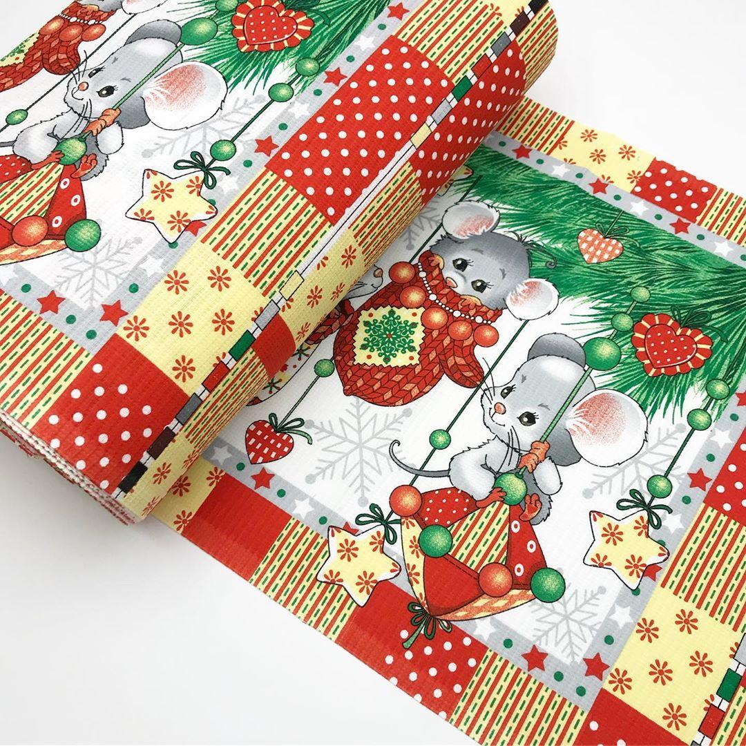 Купить ткань на полотенца для нового года