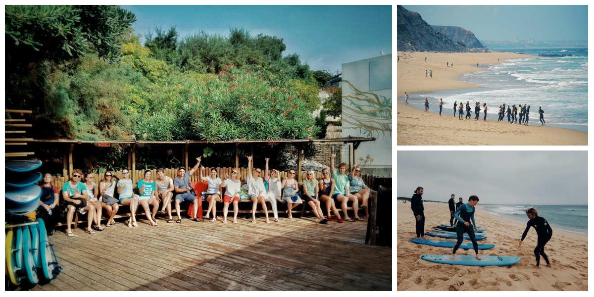2 день серф-тура в Португалию