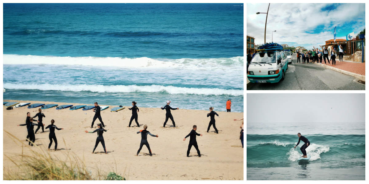 6 день серф-тура в Португалию