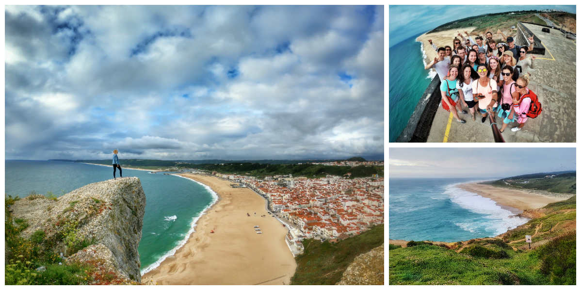 7 день серф-тура в Португалию. Назаре