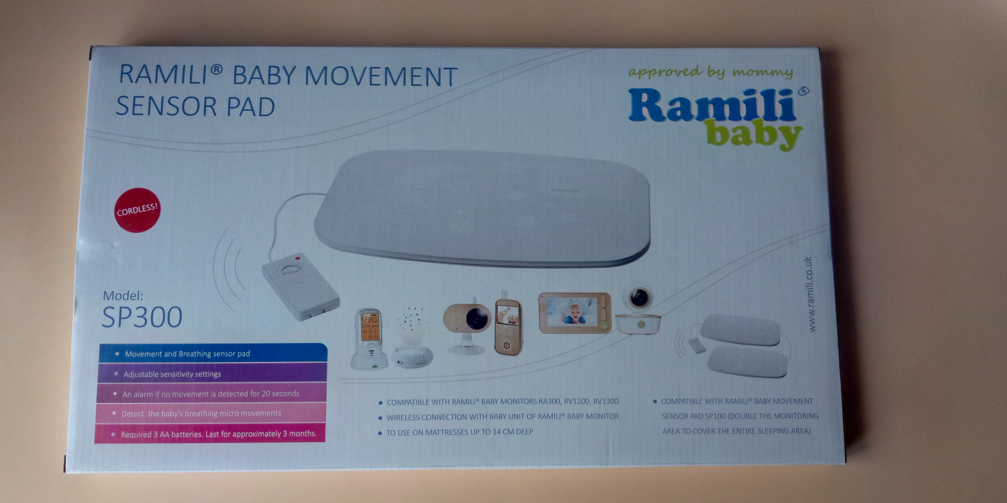 Купить монитор дыхания для новорожденных