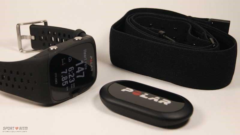 Polar H10 и часы Polar M430