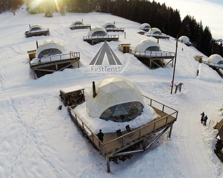 глэмпинг шатер