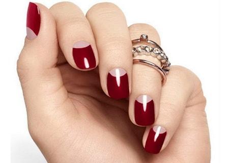 Дизайн для круглых ногтей