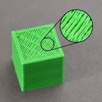 Дыры или щели на верхнем слое распечатки