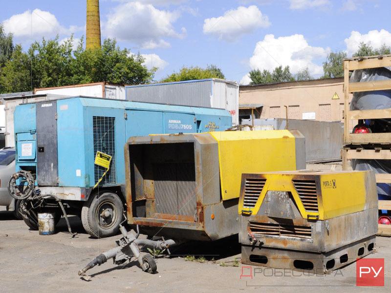 Ремонт дизельных компрессоров в Москве